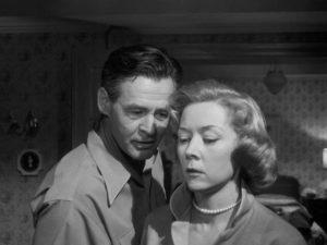 Robert Ryan with neighbour Gloria Graham in Robert Wise's Odds Against Tomorrow (1959)