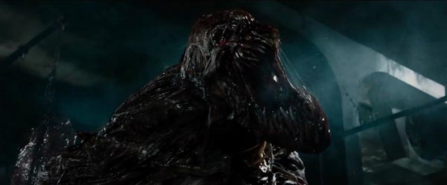 One of the T-virus-created monsters in Paul W.S. Anderson's Resident Evil: The Final Chapter (2016)
