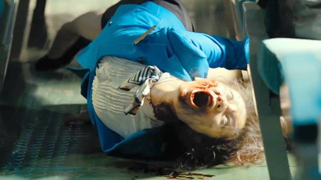 Coming back from the dead is painful in Yeon Sang-ho's Train to Busan (2016)