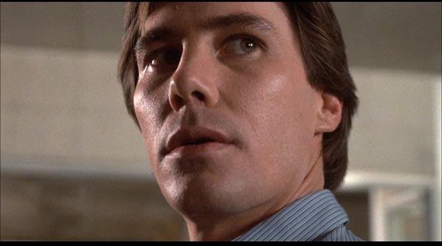 Gene Evans as serial killer Warren Stacy in J. Lee Thompson's 10 to Midnight (1983)