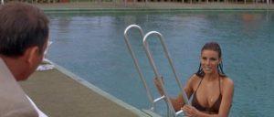 Frank Sinatra with Raquel Welch in Gordon Douglas' Lady in Cement (1968)
