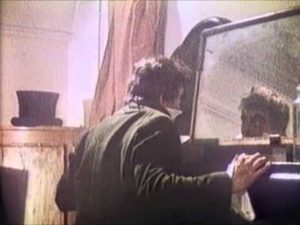 Dr. Jekyll (Denis DeMarne) discovers his disturbing inner self in Andy Milligan's The Man With Two Heads (1972)