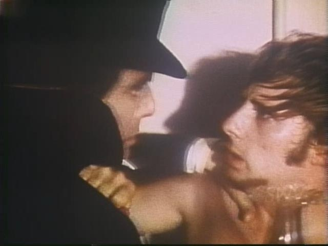 Mr Hyde pays an unwanted visit to Dr Jekyll's assistant in Andy Milligan's The Man With Two Heads (1972)