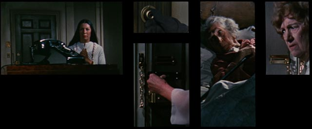 Paranoid montage in Richard Fleischer's problematic The Boston Strangler (1968)