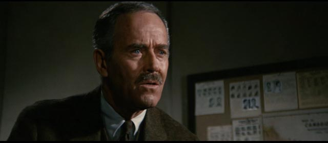 Henry Fonda as John S. Bottomly, tasked with finding the killer in Richard Fleischer's The Boston Strangler (1968)