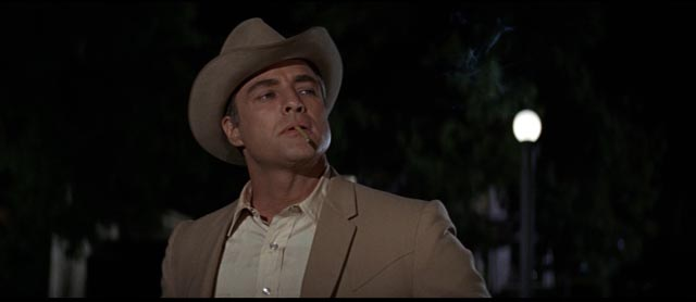 Marlon Brando as Sheriff Calder the only decent man in town in Arthur Penn's The Chase (1966)