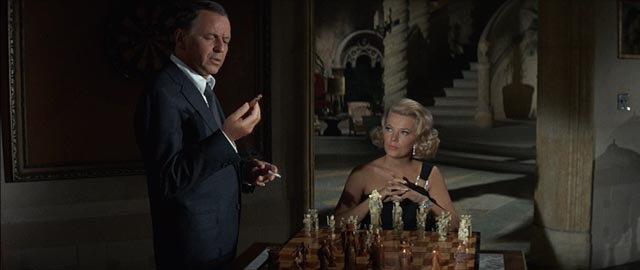 Sinatra with Gena Rowlands in Gordon Douglas' Tony Rome (1967)