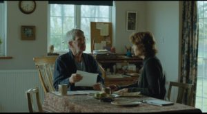 Geoff (Tom Courtenay) and Kate (Charlotte Rampling) receive news which will shatter the calm of their lives in Andrew Haigh's 45 Years (2015)
