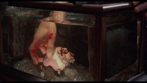 The Baron steals a peasant's heart in Freddie Francis' The Evil of Frankenstein (1964)