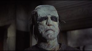 The results of the Baron's work belie his technical skills in Freddie Francis' The Evil of Frankenstein (1962)