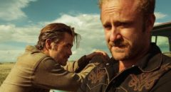 Chris Pine and Ben Foster as outlaw brothers in David Mackenzie's Hell or High Water (2016)