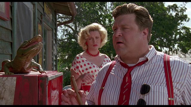 John Goodman, larger than life as legendary exploitation producer Lawrence Woolsey in Joe Dante's Matinee (1993)