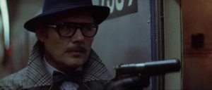 Robert Shaw as Mr. Blue in Joseph Sargent's The Taking of Pelham One Two Three (1974)