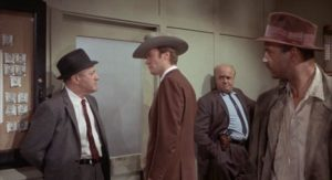 Coogan (Clint Eastwood) butts heads with NYPD's Lt. McElroy (Lee J. Cobb) in Don Siegel's Coogan's Bluff (1968)