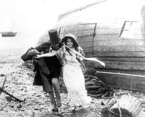Emily and Steerforth elope in the Hepworth company's David Copperfield (1913)