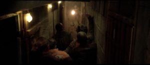 Zombies in tight spaces in Yannick Dahan & Benjamin Rocher's La horde (2009)