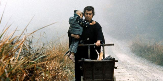 Father and son on the road of demons and damnation in Lone Wolf and Cub