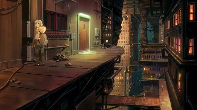 Patema explores her underground world inYasuhiro Yoshiura's Patema Inverted (2013)