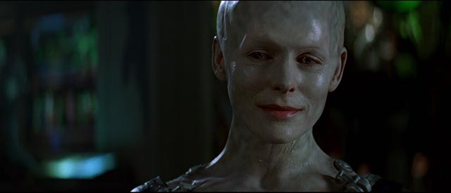 Alice Krige as the Borg queen in Star Trek: First Contact (1996)