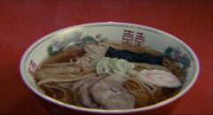 The perfect bowl of ramen; the grail sought in Juzo Itami's Tampopo (1985)
