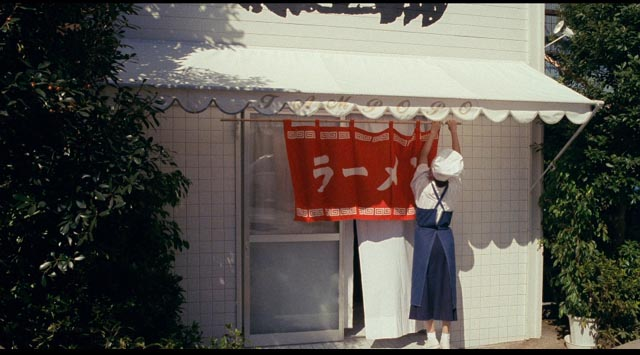 Tampopo opens her refurbished ramen shop in Juzo Itami's Tampopo (1985)