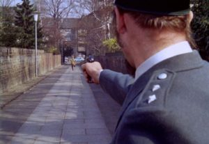 The fatal alley in Sam Fuller's Dead Pigeon on Beethoven Street (1972)