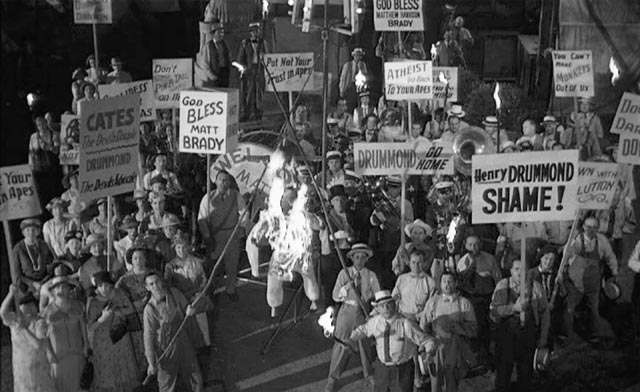 Lynching as an expression of Christian fundamentalist belief in Stanley Kramer's Inherit the Wind (1960)