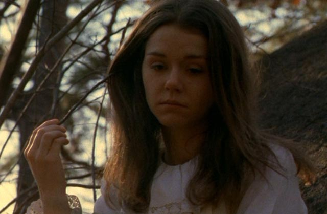 Lisa (Leslie Lee) haunted by some trauma which remains hidden in Frederick R. Friedel's Axe (1974)