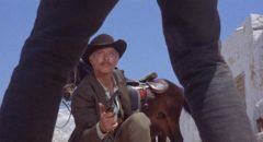 Lee van Cleef as gunslinger Frank Talby in Tonino Valerii's Day of Anger (1967)