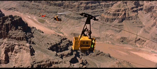 Making the best use of an existing location in Don Siegel's Edge of Eternity (1959)