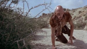 Michael Berryman as the cannibal Pluto in Wes Craven's The Hills Have Eyes (1977)
