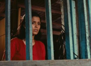 Hilda Koronel as a woman trapped by poverty and a dysfunctional family in Lino Brocka's Insiang (1976)