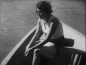 One of the shipwrecked women in Mario Peixoto's Limite (1931)