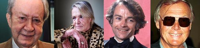 Peter Sallis, Anita Pallenberg, John Avildsen and Adam West all died in June