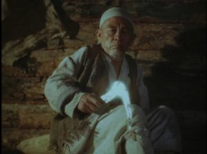 The life of Tsai (Kasym Zhakibayev) is consumed by a hatred which spans generations in Ermek Shinarbaev's Revenge (1989)
