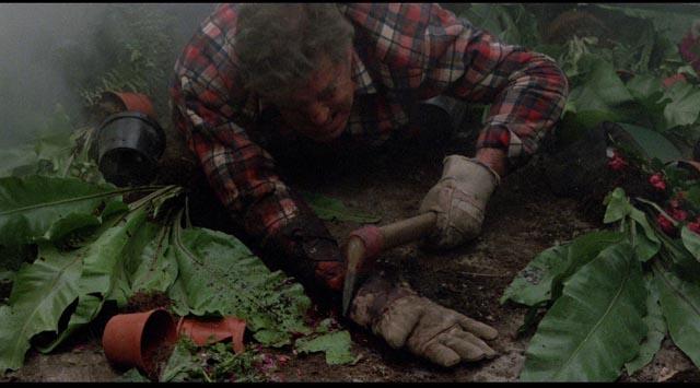 Carnivorous slugs are enough to drive you crazy in J.P. Simon's adaptation of Shaun Hutson's Slugs (1988)