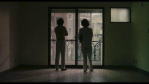 No point of contact: Lung (Hou Hsiao-Hsien) and Chin (Chin Tsai) in Edward Yang's Taipei Story (1985)