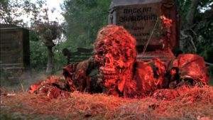 Self-parody: the dead rise from the grave in George A. Romero's Creepshow (1982)