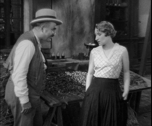 Panisse (Fernand Charpin) offers to save Fanny from social shame in Marc Allégret's Fanny (1932)