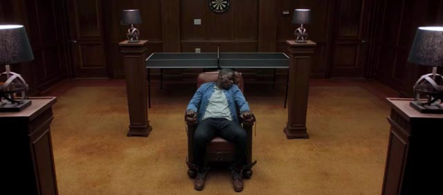 Chris' worst nightmare: being displaced from his own body in Jordan Peele's Get Out (2017)