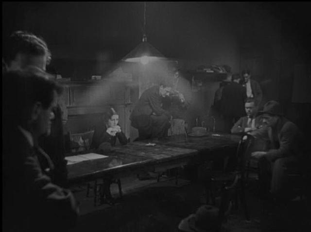 The silent version of Arthur Robison's The Informer (1929) has more atmospheric lighting ...