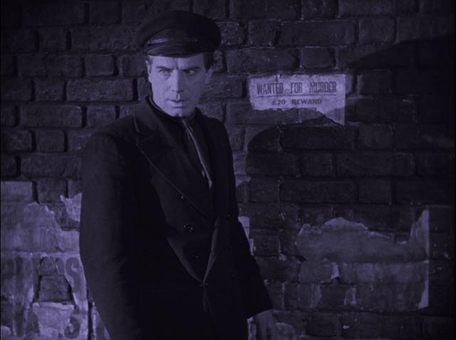 Gypo (Lars Hans0n) makes his fateful decision in Arthur Robison's The Informer (1929)