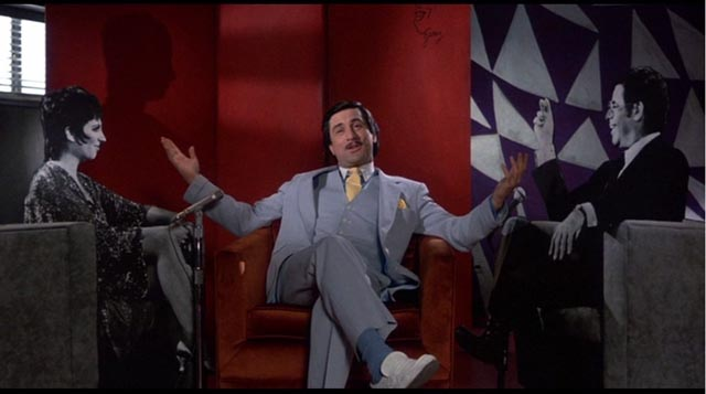 Robert De Niro in his career high performance as Rupert Pupkin, The King of Comedy (1982)