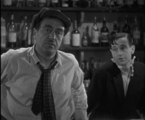 Raimu as bar owner César and Pierre Fresnay as his son Marius in Marcel Pagnol's Marseilles Trilogy
