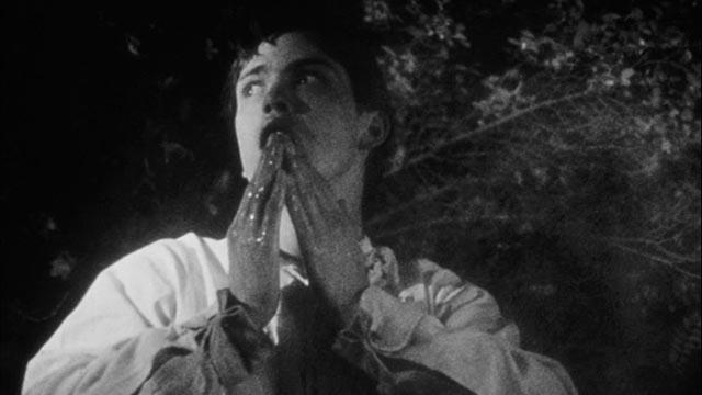 During his crimes, Martin (John Amplas) envisions himself a figure of tragic romance in George A. Romero's Martin (1978)