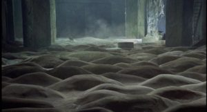 One of the mysterious landscapes of Andrei Tarkovsky's Stalker (1979)