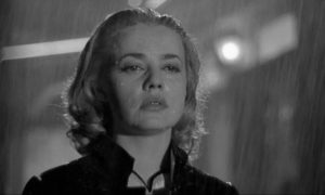 Jeanne Moreau in Louis Malle's French noir Elevator to the Gallows (1957)