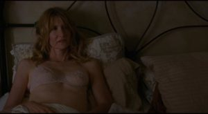 Laura (Laura Dern) after her lunchtime encounter with a lover in Kelly Reichardt's Certain Women (2016)
