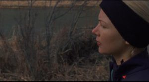 Gina (Michelle Williams) maintains tight control over herself in order to hold her family together in Kelly Reichardt's Certain Women (2016)