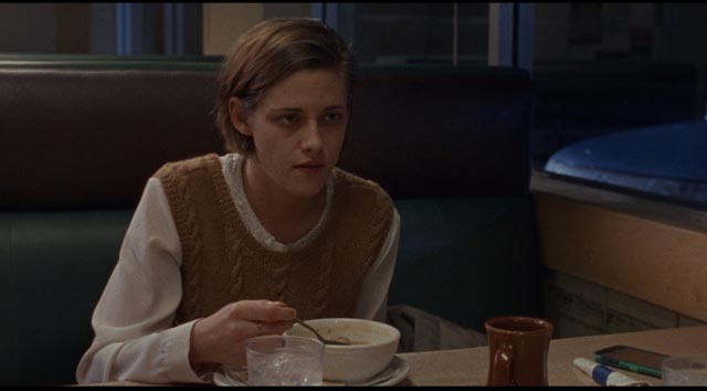 Beth (Kristen Stewart), already feeling defeated at the beginning of her law career in Kelly Reichardt's Certain Women (2016)